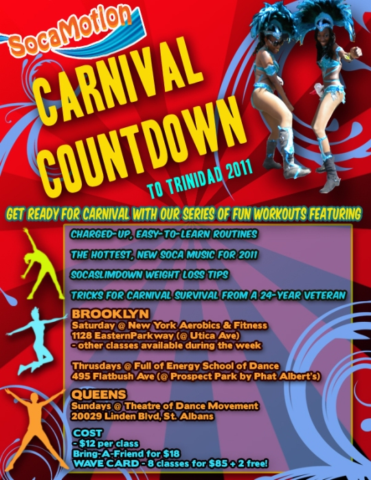 CARNIVAL COUNTDOWN™ Workout Series - by SocaMotion