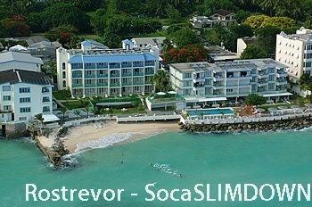 Rostrevor Hotel Barbados Grand Prize for SocaSLIMDOWN 2